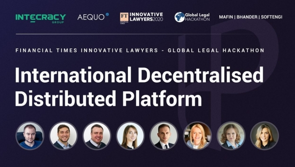 The Global Legal Hackathon team of Intecracy Group and Aequo has developed a platform to prove ownership